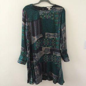 Emerald Shift Dress